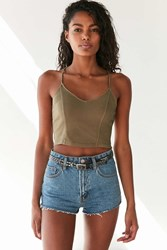 Truly Madly Deeply Game Over Cropped Cami Green