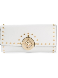 Versus Studded Clutch White