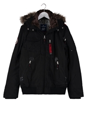 Tom Tailor Winter Jacket Black