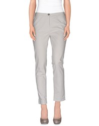 Lorena Antoniazzi Trousers Casual Trousers Women Light Grey