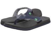 Sanuk Yoga Mat Navy Women's Sandals