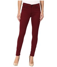 Hudson Nico Mid Rise Ankle Super Skinny In Dark Amber Dark Amber Women's Jeans Brown
