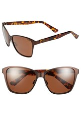 Women's Zeal Optics 'Laurel Canyon' 57Mm Retro Polarized Sunglasses Laurel Canyon Copper