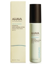Ahava Essential Day Moisturizer Broad Spectrum Spf 15 No Color