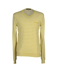 Guess By Marciano Knitwear Jumpers Men Yellow