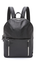 Ben Minkoff Pebbled Leather Bondi Backpack Black