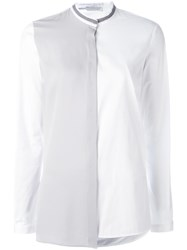 Fabiana Filippi Colour Block Shirt White