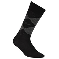Boss Logo Boss John Argyle Wool Rich Socks Black