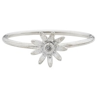 Estella Bartlett Fine Sterling Silver Vintage Mini Flower Ring Silver