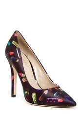 Nicole Miller Bailey Pattern Pump Red