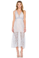 Alice Mccall Wanderlust Dress Blue
