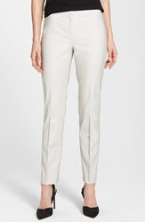 Nic Zoe Women's 'The Perfect' Ankle Pants Powder