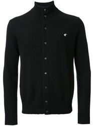 Loveless High Neck Cardigan Black