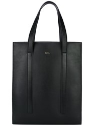 Paul Smith Flat Shopper Tote Black
