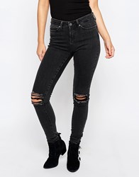 Noisy May Lucy Slim Jeans 34 Black