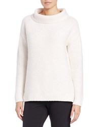 424 Fifth Funnelneck Sweater Ivory