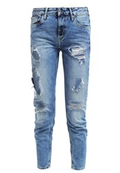 Pepe Jeans Susan Relaxed Fit Jeans B39 Blue Denim