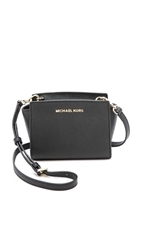 Michael Michael Kors Selma Mini Messenger Bag Black
