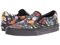 Vans Classic Slip On X Toy Story Collection Toy Story Sid's Mutants Black Skate Shoes
