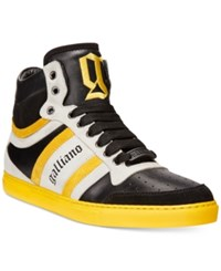 John Galliano Vernic High Top Sneakers Men's Shoes