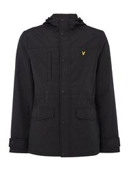 Lyle And Scott Men's Microfleece Lined Jacket Black