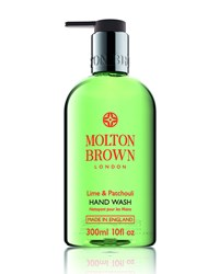 Lime And Patchouli Hand Wash 10Oz. Molton Brown