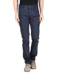 Boss Orange Casual Pants Dark Blue