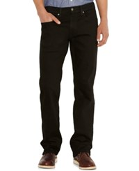 Levi's Men's Big And Tall 559 Relaxed Straight Fit Jeans Black
