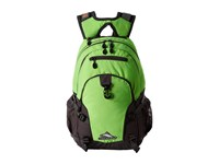High Sierra Loop Backpack Lime Slate Backpack Bags Green