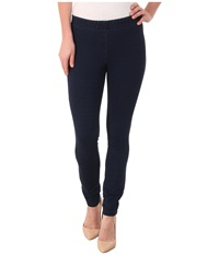 Miraclebody Jeans French Terry Leggings Indigo Blue Women's Casual Pants
