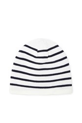 Forever 21 Men Striped Fleece Beanie