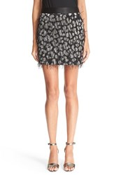 Milly Women's 'Couture Cheetah' Jacquard Miniskirt