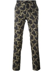 Paul Smith Ps By Stretch Skinny Trousers Multicolour