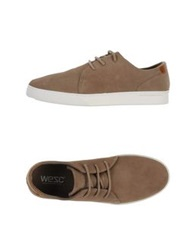 Wesc Low Tops And Trainers Khaki