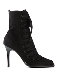 Ann Demeulemeester Lace Up Stiletto Boots