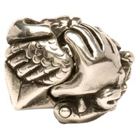 Trollbeads Bead Of Fortune Charm Silver