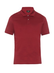 Dunhill Short Sleeved Cotton Jersey Polo Shirt