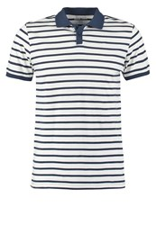 Your Turn Polo Shirt Dark Blue Offwhite