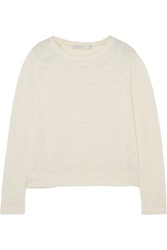 Kain Label Tova Open Knit Sweater White