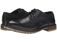Hush Puppies Rohan Rigby Black Leather Men's Lace Up Casual Shoes