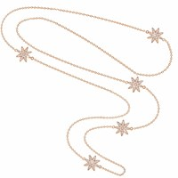 Vixi Jewellery Nova Collection Rose Gold Plated Sterling Silver Opera Length Necklace