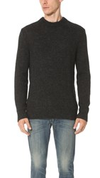 Rag And Bone Oliver Crew Sweater Charcoal