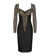 Stella Mccartney Rose Lace Sweetheart Dress Female Black