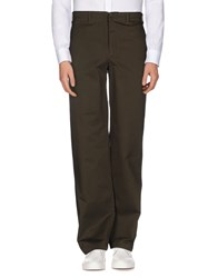 Ps By Paul Smith Trousers Casual Trousers Men Dark Green