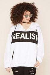 Forever 21 Plus Size Realist Graphic Hoodie