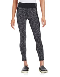Calvin Klein Colorblocked Active Leggings Black