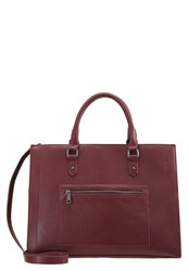 Evenandodd Tote Bag Burgundy Bordeaux