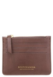 Scotch And Soda Wallet Brown Dark Brown