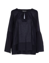 Alpha Studio Shirts Blouses Women Dark Blue