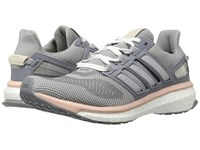 Adidas Engery Boost 3 Light Grey Heather Night Navy Vapour Pink Women's Running Shoes Gray
